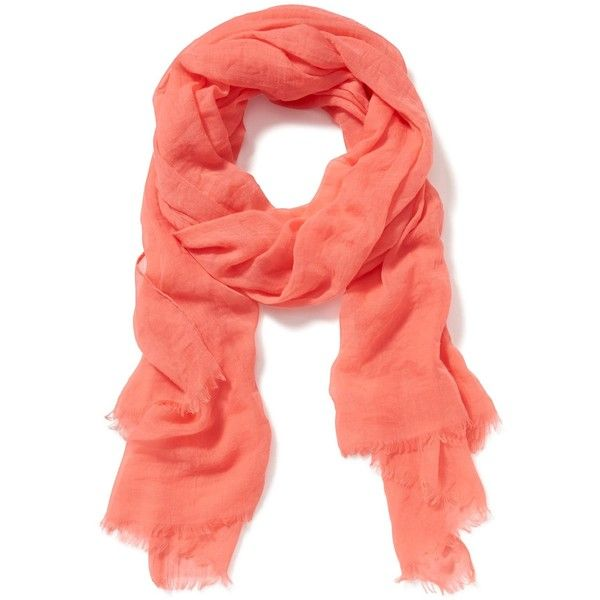 Old Navy Solid Linear Scarf ($13) ❤ liked on Polyvore featuring accessories, scarves, old navy, old navy scarves, gauze scarves, sheer scarves and sheer shawl