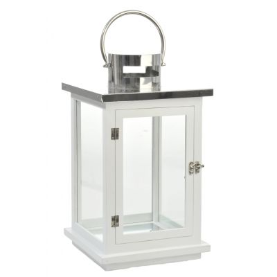 Lampion biały marki Villa Coloniale / lantern