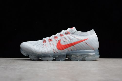 f9ea2cc9fc High Quality Nike Air VaporMax Pure Platinum University Red-Wolf Grey -  Mysecretshoes