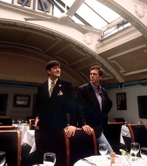 Stephen Fry and Hugh Laurie: Hugh Laurie, Nerd Stuff, Bit, Fry Laurie, Favourite Tv, Beautiful Stuff, Beautiful People, Stephen Fry, Favorite People