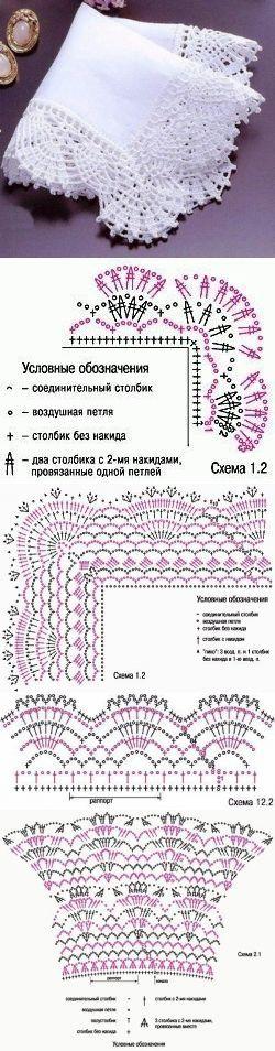 crochet lace  ...♥ Deniz ♥ [  |  <br/>    Crochet