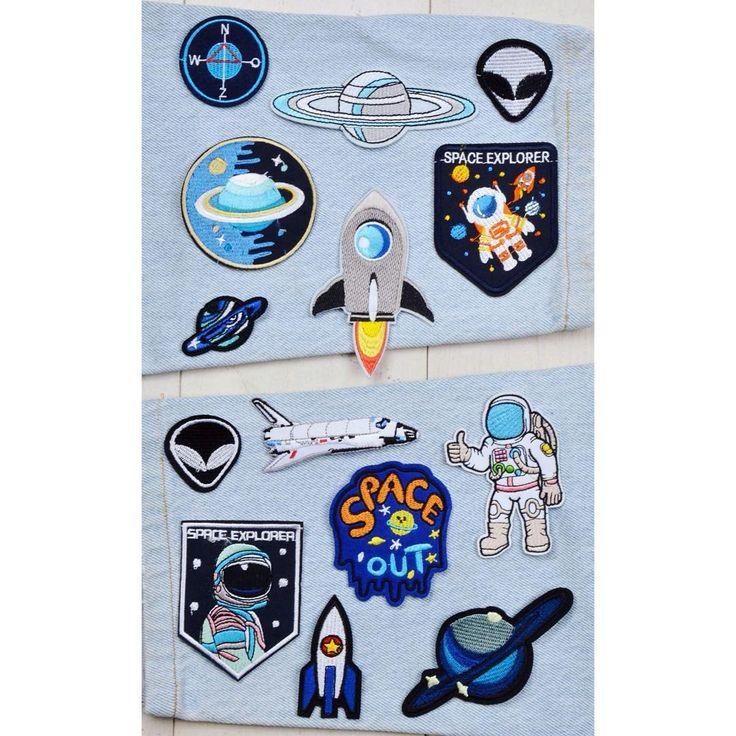 To infinity and beyond 🚀  space iron-on-patch szputnyikshop szputnyik planet astronaut rocket nasa ufo