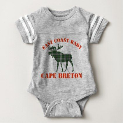 #East Coast Baby moose  Cape Breton tartan shirt - #Xmas #ChristmasEve Christmas Eve #Christmas #merry #xmas #family #kids #gifts #holidays #Santa