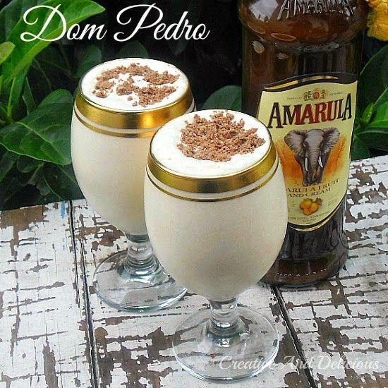 Dom Pedro ~ best drinking dessert !