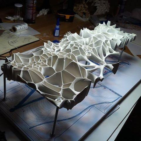 nexttoparchitects — #parametric3d #voronoi #cellular : @parametric.3d