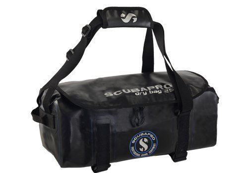 You won't find more versatile waterproof bags than these dry duffels. Made of 840D super-heavy-duty PVC (Tarpaulin) fabric with taped seams and a waterproof zipper, their large main compartments offer lots of cargo carrying capacity. U-shaped openings with YKK double sliders guarantee easy...