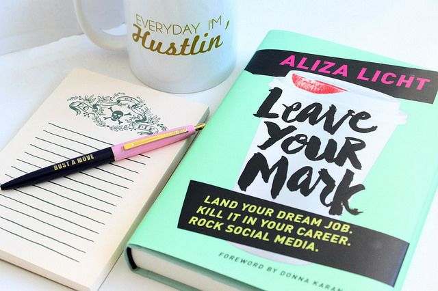 Boss Babe Book Club June Selection: Leave Your Mark - on The Trendy Sparrow Blog (www.thetrendysparrowblog.com)