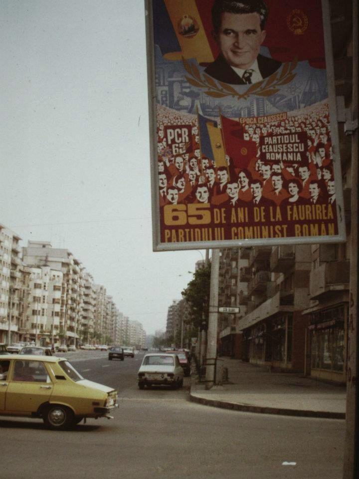 """""""65 anni dalla creazione del Partito Comunista Rumeno"""" - Bucarest, 1986"""