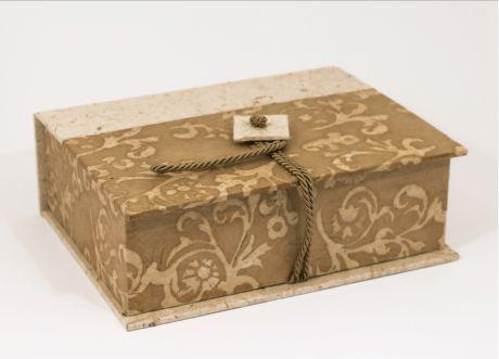 SCATOLA PORTACONFETTI legatoria cartabianca, scatola portabijoux, album matrimoniali, personalizzati, fatti a mano,porfolio matrimoniale, diari, quaderni, partecipazioni