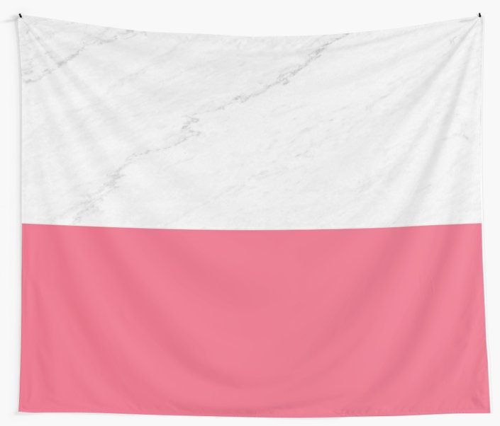 Marble Pink' Wall Tapestry by ARTbyJWP from Society6 #tapestries #walltapestry #walldeco #marble #pinkandgray --   An abstract combination of marble texture and dark pink color in stripes. • Also buy this artwork on stationery, apparel, stickers, and more.