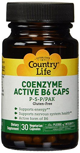 Country Life Coenzyme Active B-6 50 Mg, 30-Count ** Be sure to check out this awesome product.