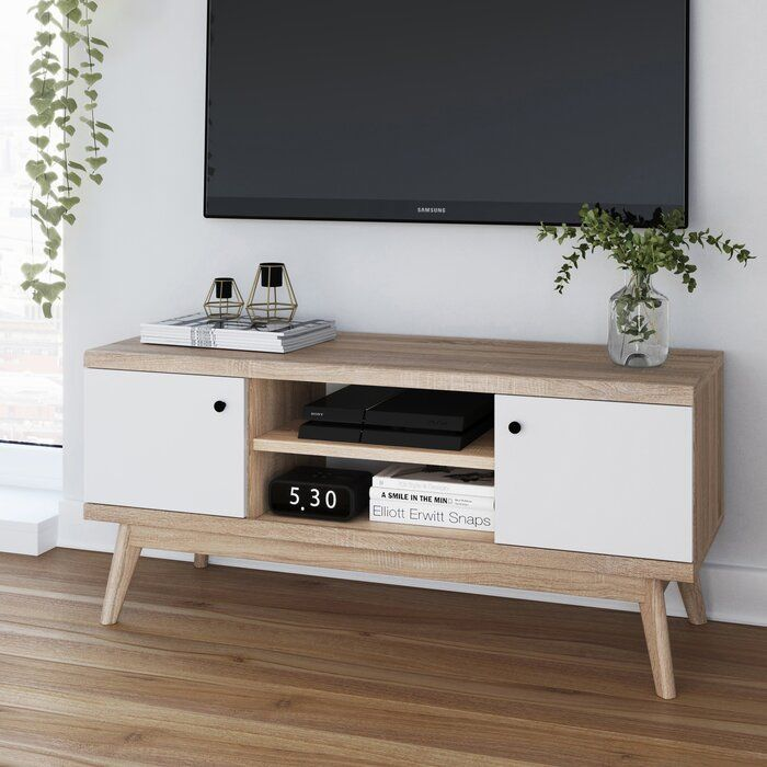 Cockfosters Tv Stand For Tvs Up To 50 Scandinavian Tv Stand Living Room Tv Stand Bedroom Tv Stand