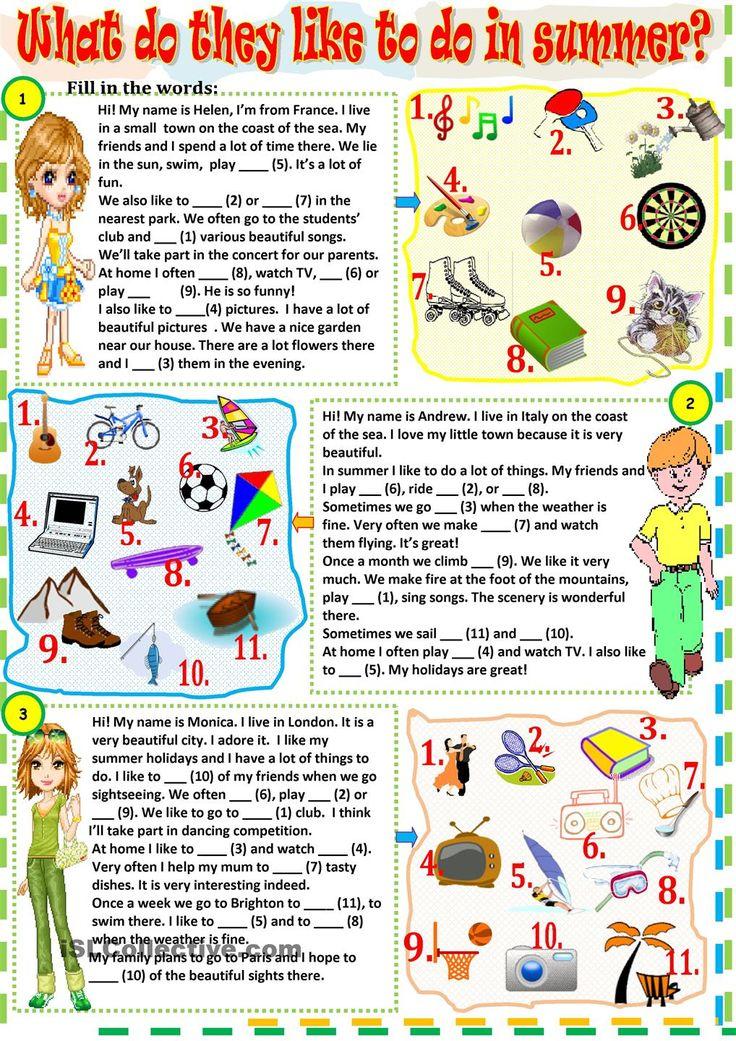 24 Best Tests Images On Pinterest English Language Learning