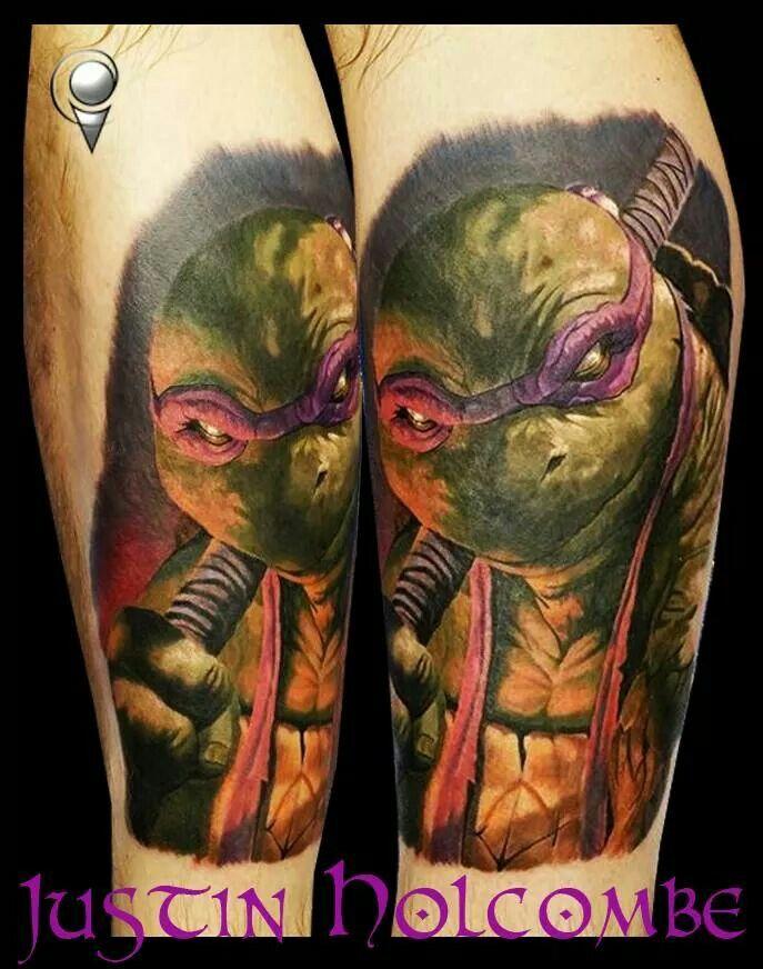 Ninja Turtles Raphael Tattoo