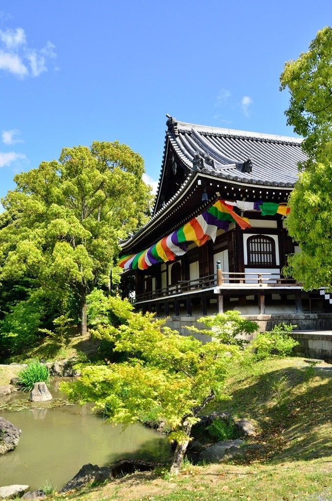 Chishaku-in temple, Kyoto, Japan 智積院 京都
