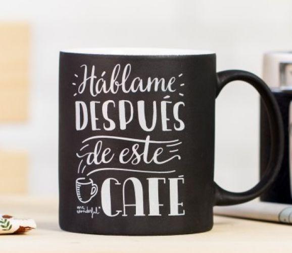 14. Por la mañana, una buena taza de café