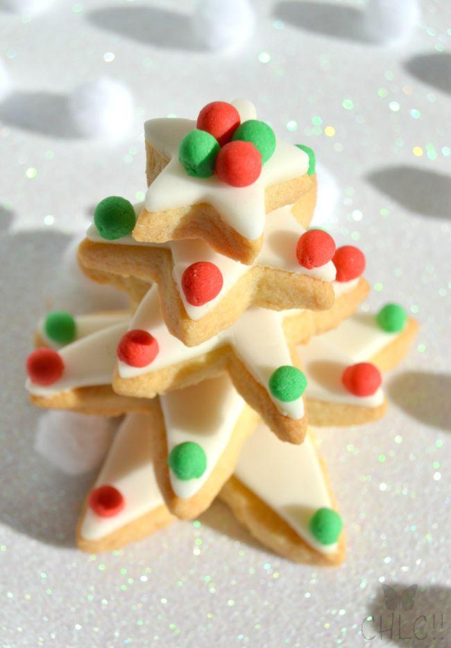 Como hacer un Arbol de galletas de navidad   christmas cookie tree   receta tradicional y con Thermomix