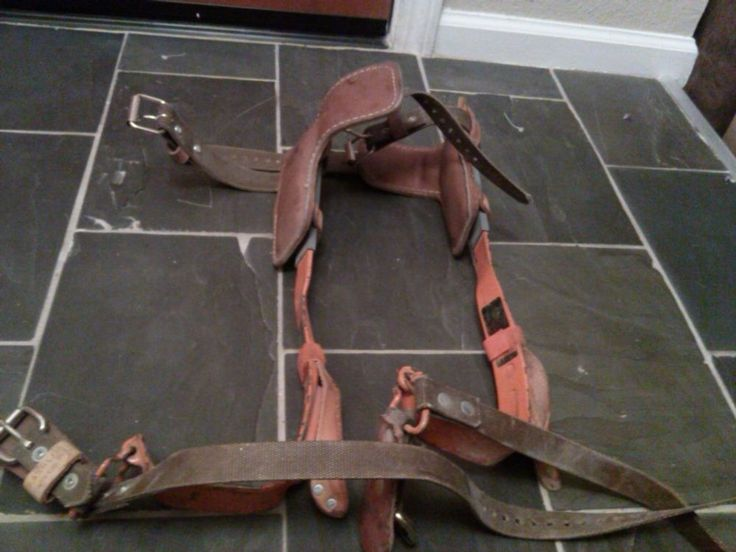 Bashlin Insutries #Lineman #Leather #Tree Pole #Climbing Spikes - griffe f r k chenm bel