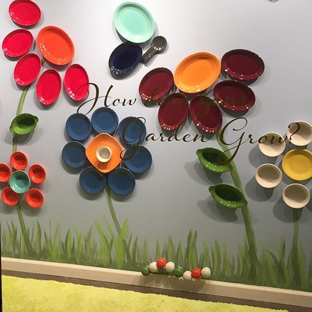 """""""We're finishing setting up our booth for the #fiestanewcolor reveal at @americasmartatl! Check back at 9am EST on January 10 to find out what the 2017 shade will be. #atlmkt"""" 