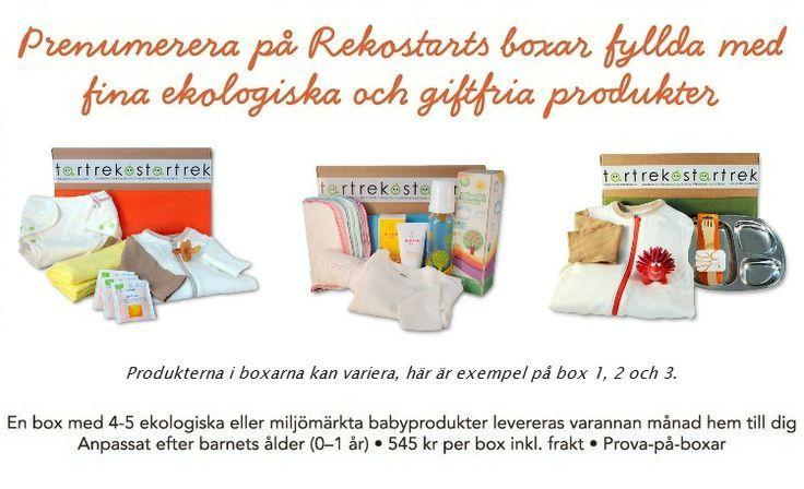 BabyGoGreen: Prenumerera på ekologiska månadsboxar från Rekostart