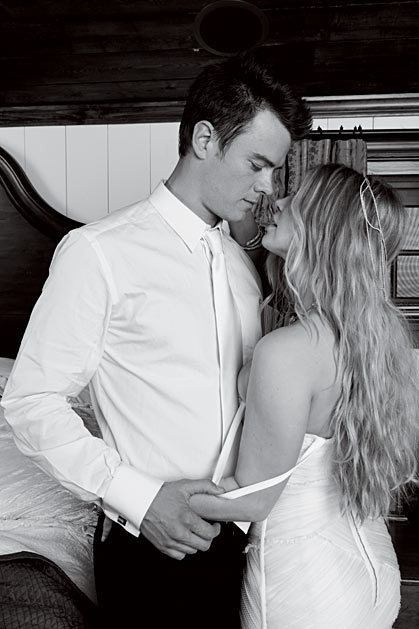Josh Duhamel and Fergie wedding