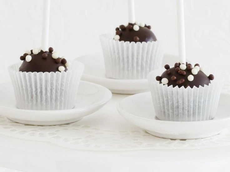 Serve these rum-spiked chocolate cake pops at your next cocktail party and watch as they quickly disappear.