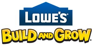 LOWE'S BUILD AND GROW.  Fun free kids clinics.  Build a wooden project and get free apron, goggles, patch, certificate, and more!