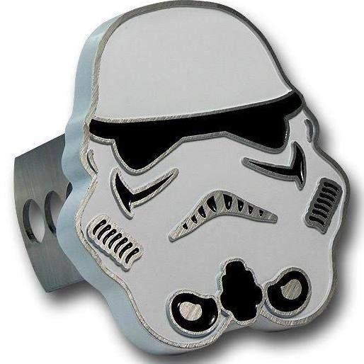 Star Wars Stormtrooper Trailer Hitch Plug jeep