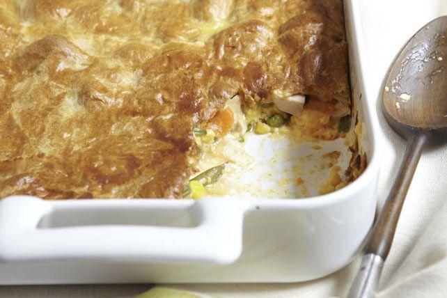Ce pâté facile à réaliser transforme de simples restes de poulet cuit en un délicieux plat familial.
