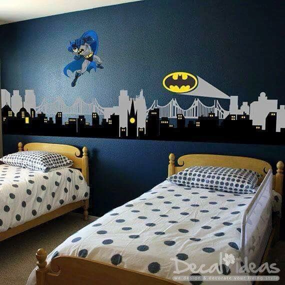 Batman Bedroom 55 best lilys room images on pinterest | superhero room, batman