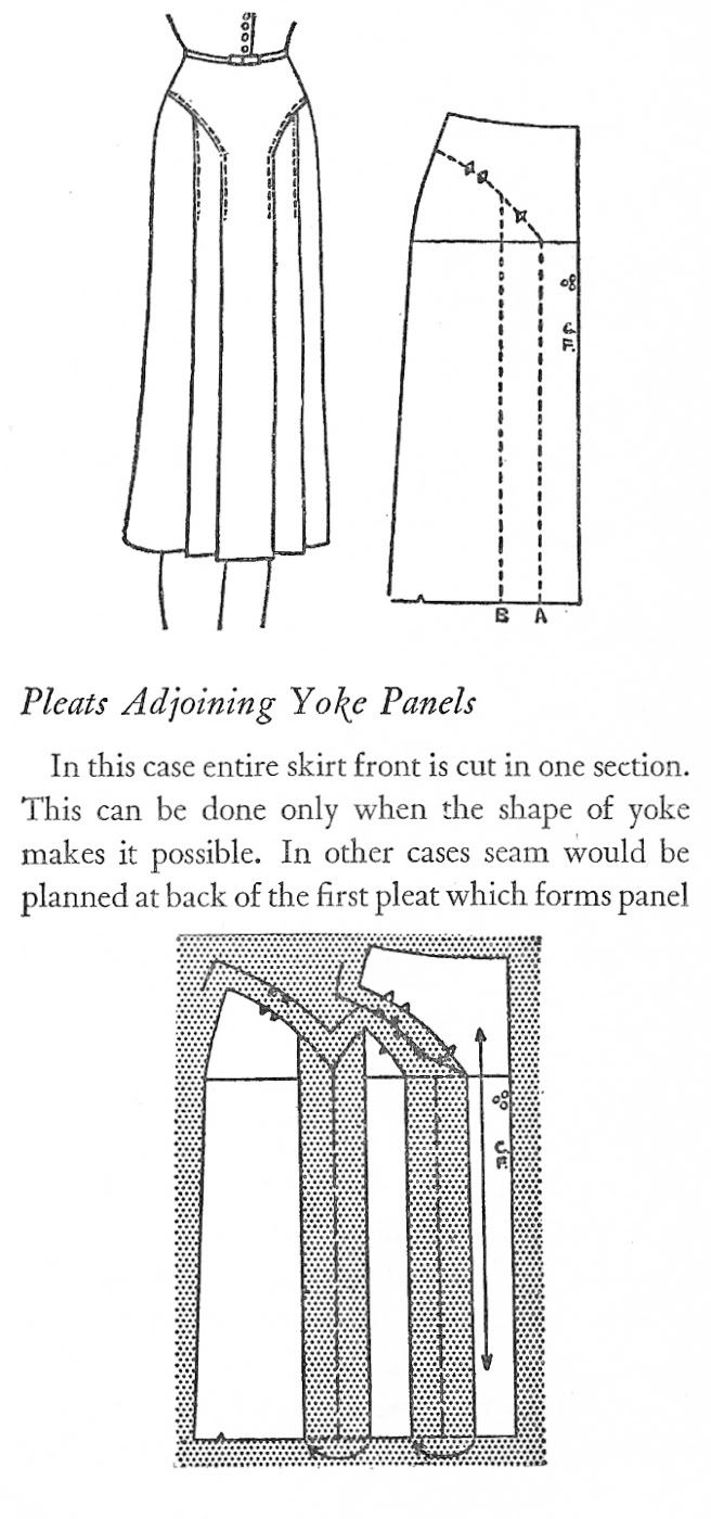 Harriet Pepin on Pleats in Skirts - Women's Cutter and Tailor - The Cutter and Tailor