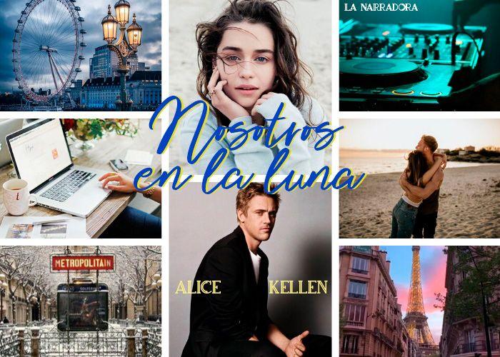 Reseña] Nosotros en la luna de Alice Kellen en 2020   Literatura romantica,  Alice, Novelas para leer