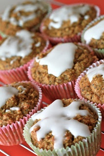 Healthy citrus & poppyseed muffins