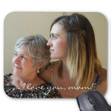 Custom Mouse Pads Gifts For Mom From Daughter - tap, personalize, buy right now!