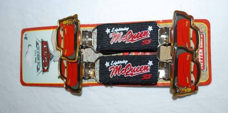 Disney Pixar Cars Metal Mitten Clips Gloves Attachments Lightning McQueen New #Disney #MittenClips