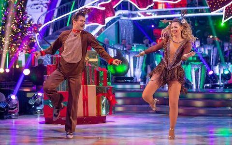 Pasha Kovalev and Kimberley Walsh