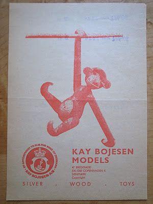 >>> little monkey   Kay Bojesen