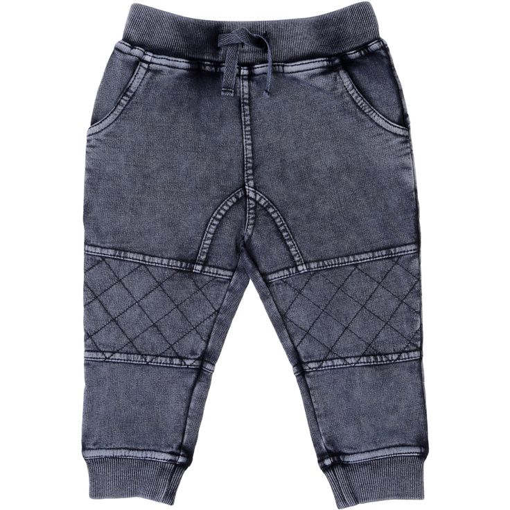 Dymples Baby Faded Trackies - Blue | BIG W