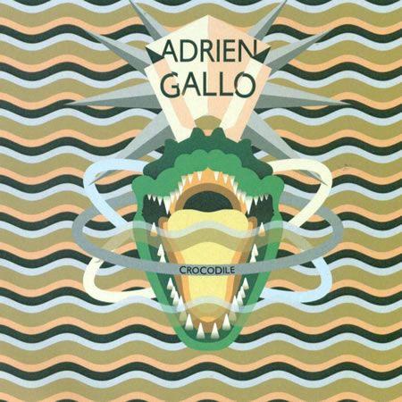 Adrien Gallo pochette single Crocodile - DR