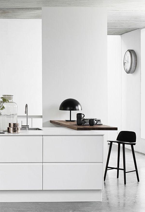 SANDFELD ▲ STYLE Kitchen, ideas, diy, house, indoor, organization, home, design, cook, shelving, backsplash, oven, desk, decorating, bar, storage, table, interior, modern, life hack.