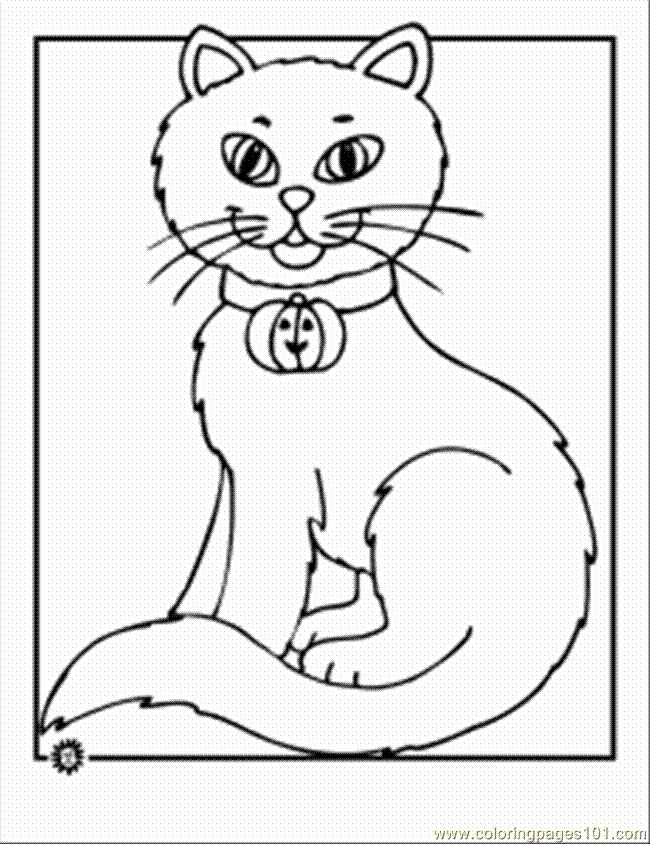 Black Cat Worksheets For Kids Coloring Page 42 Een