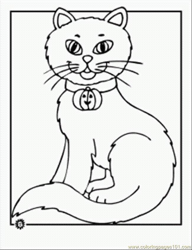 black cat worksheets for kids coloring page 42 Een
