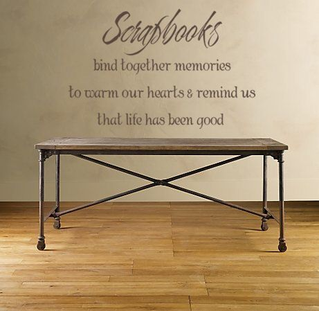 Scrapbooks Wall Decals - Trading Phrases