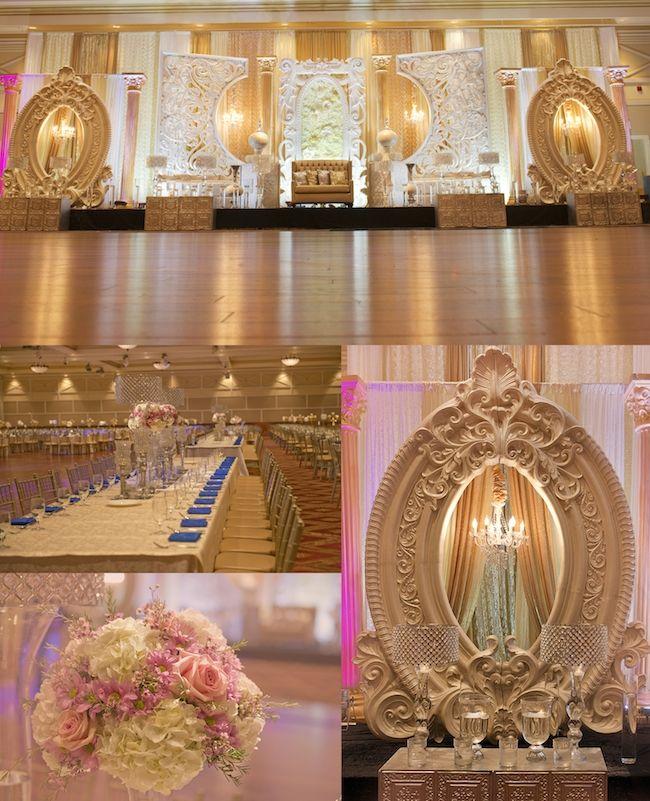 Mirror Indian reception decor by Spotlight Vendor @gpsdecors