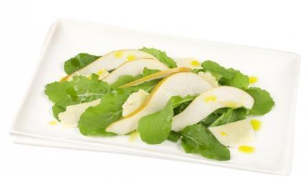 Pear, rocket and parmesan salad    #NewZealand #vegetable #recipes