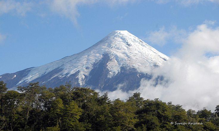 Osorno Volcano near Puerto Varas, Chile