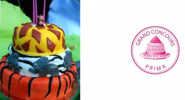 Chouette, un gâteau avec de jolis animaux ! Une thématique qui plaît toujours aux plus petits et dont on s'inspire volontiers pour les anniversaires, comme Stéphane Paillard. Celui-ci a été réalisé pour son fils. Un bestiaire à croquer.