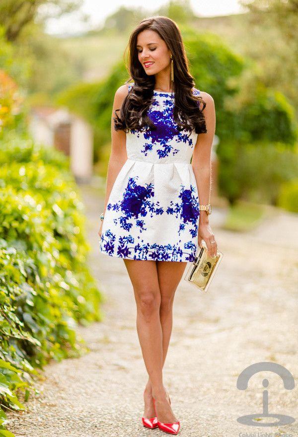 Porcelain Persunmall dress