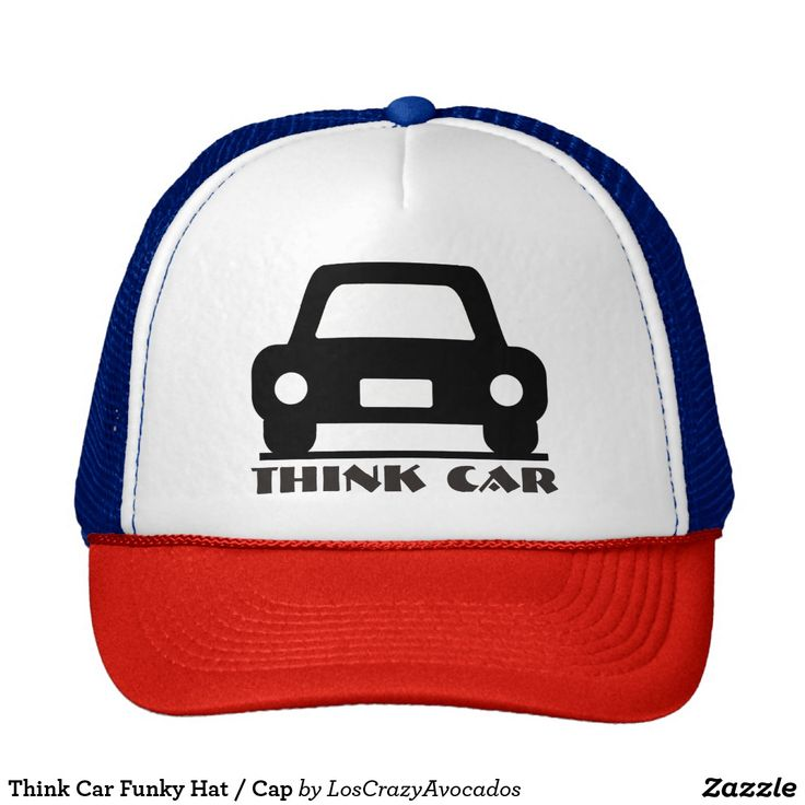 Think Car Funky Hat / Cap