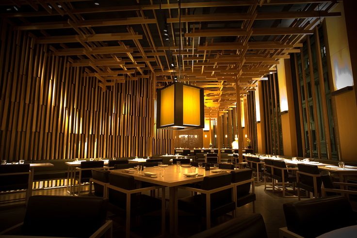 Sake no Hana offers modern authentic Japanese dining in the heart of Mayfair.  We have reserved dinner parties here becouse people like it there, however they do not have private dining.